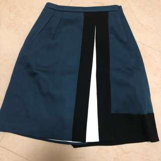 Jil Sanders Navy Skirt