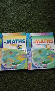 I-Maths 1A and 1B textbooks
