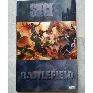 Marvel comics - Siege Battlefield