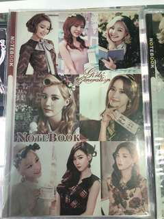 BTS BIGBANG SNSD notebook