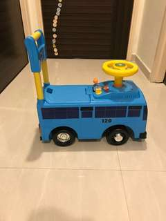 Tayo The Little Bus Ride On Toy For Toddler