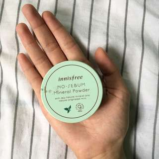 Innisfree No-Sebum Mineral Powder (Loose Powder)
