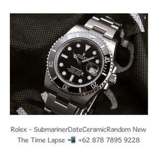 Rolex - Submariner Date Ceramic 'Random' (New in Box)