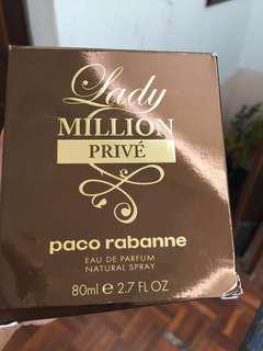 Lady Million Prive 80ml #kayaraya