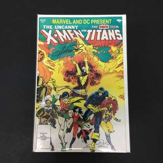 Uncanny X-Men VS New Teen Titans 1 DC Marvel Comics Book Xmen Justice League Movie
