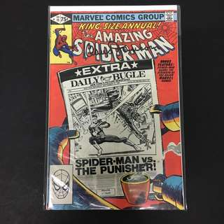 Amazing Spider-Man Annual 15 Marvel Comics Book Stan Lee Movie Avengers Spiderman