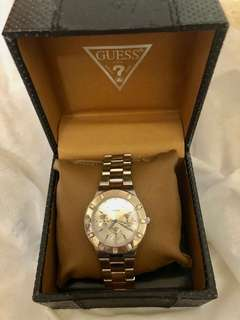 Guess stainless woman watch