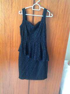 Peplum dress ( very stretchable)