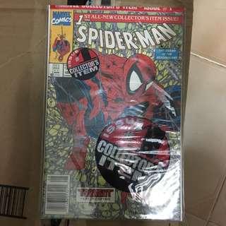 Spider-Man 1 Marvel Comics Book Stan Lee Movie Avengers Spiderman