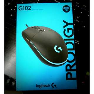 [Local Manufacturer warranty]Logitech G102 Prodigy RGB Wired Gaming Mouse