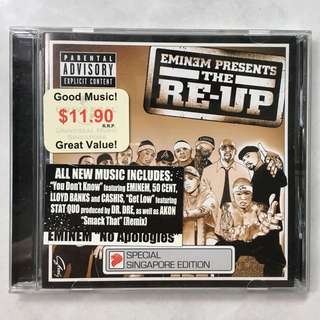 Eminem Presents the Re-Up CD album