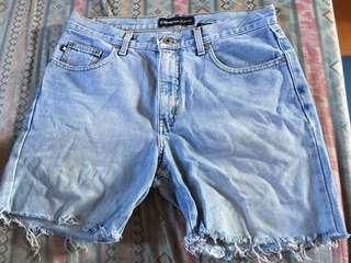 Express jeans short