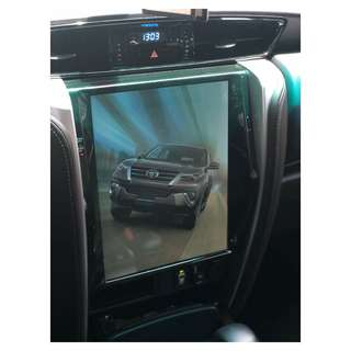 6.0 Android Fortuner Tesla Screen