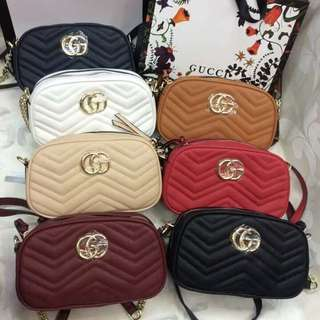 Gucci bag with box and receipt