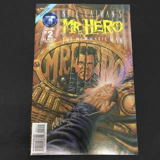 Mr Hero: The Newmatic Man 2 Tekno Comics Book Superhero Movie