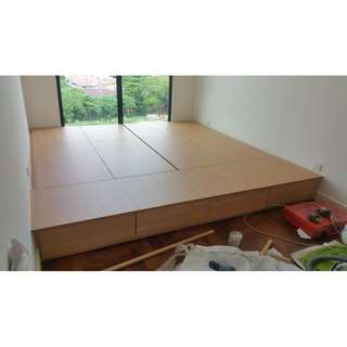Customized  Storage Bed box