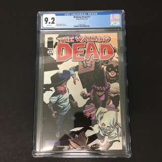 Walking Dead 71 CGC Image Comics Book Zombie TV Movie