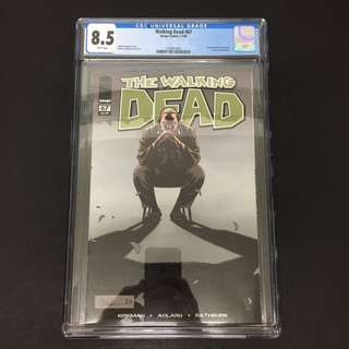 Walking Dead 67 CGC Image Comics Book Zombie TV Movie
