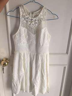 FOREVER 21 White Country Dress