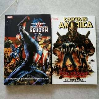 Marvel comics - Captain America set of 2