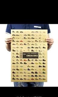 🚚 名牌球鞋海報