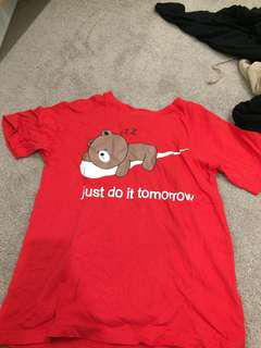 Just do it tomorrow tee