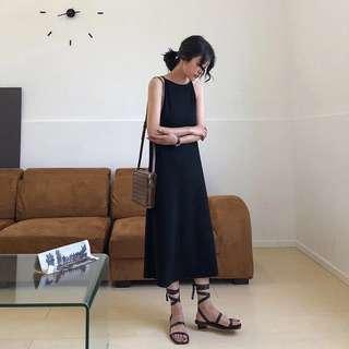 顯瘦A字連身裙