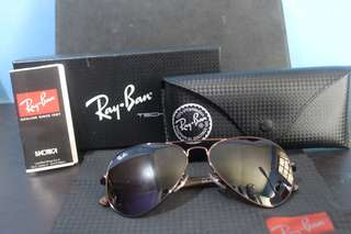 Leather Rayban Tech  NEGOTIABLE