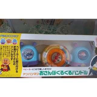 麵包超人絕版嬰兒車玩具(二手但新淨)