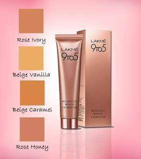 Lakme 9to5 Weightless Mousse Foundation