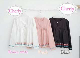 Cherry Top bhn twiscone Ori bordir