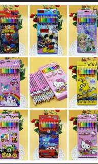 Cartoon colouring pencil- Goodie Bag