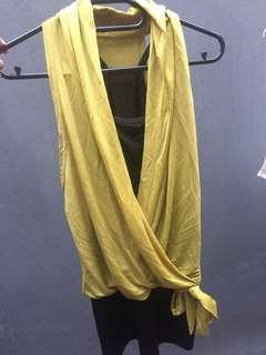 Dress warna kuning