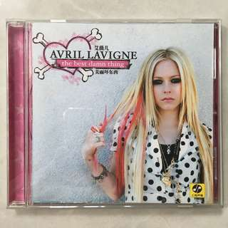 Avril Lavigne - The Best Damn Thing CD album