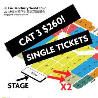 JJ Lin Sanctuary World Tour Sat & Sun.