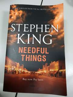 🚚 STEPHEN KING -  NEEDFUL THINGS