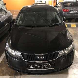 Car Rental 2010 model Kia Forte K3 1.6W $330/wk
