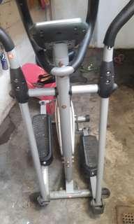 Heavy duty stationary bike