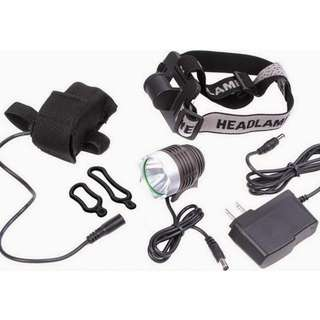 Rechargeable Cree XML T6 1LED Bike Light
