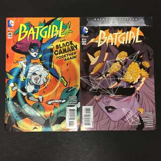 Batgirl 48 & 49 DC Comics Book Batman Movie Justice League