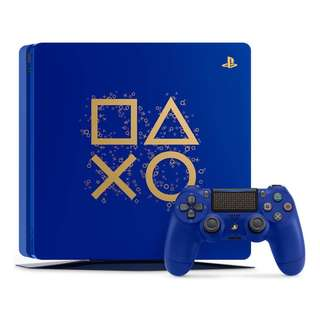 Sony PS4 1TB Limited Edition Days of Play Console Bundle, Blue - Export Set - No Warranty