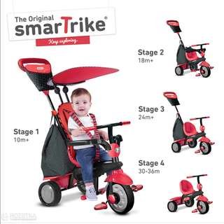 4-in-1 Smart Trike tricycle