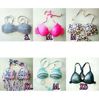 Bikini top 150 each