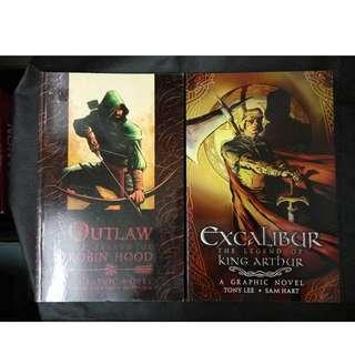 Excalibur and Outlaw (comics) set of 2 - Tony Lee / Sam Hart