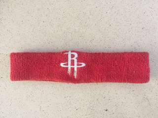Ikat Kepala Headband Bando Basket NBA Rockets