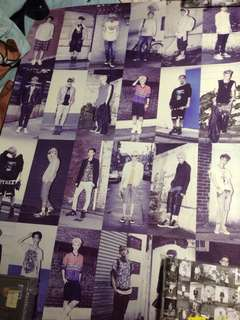 EXO THE FIRST ALBUM XOXO REPACKAGED POSTER (KR PRESS)