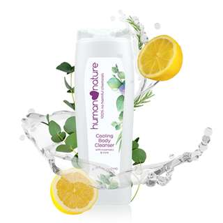 Cooling Body Cleanser with Rosemary & Mint