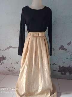 Gamis long dress bagus
