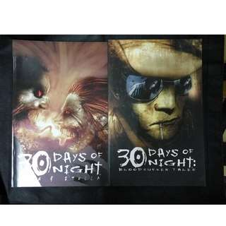 30 Days of Night (comics) set of 2