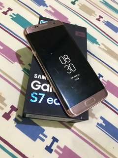Samsung s7 edge 32gb PINK GOLD EDITION
